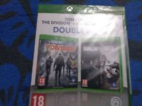 TOM CLANCY'S THE DIVISION+RAINBOW SIX SIEGE DOUBLE PACK XBOX ONE  PAL ES
