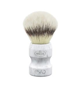 Omega  - E1858 Evo Synthetic Fiber Shaving Brush