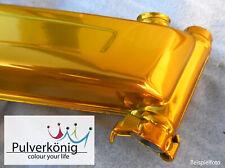 Pulverlack Powder Coating Gold Candy Lasur Beschichtungspulver 500 g