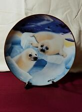The Franklin Mint Kissing Cousins By Wepplo Plate