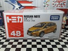 TOMICA #48 NISSAN NOTE 1/63 SCALE NEW IN BOX NYL