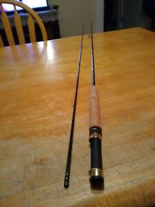 Mitchell Classic 300 Series IM6 Graphite 8' 2pc 6 wt Fly Fishing Rod V Good Cond