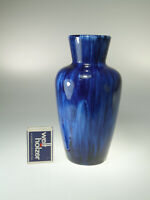 Scheurich Vase Blau 523 18 WGP 70s ca.18cm