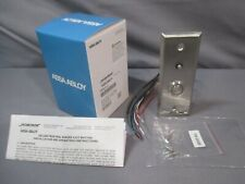 Securitron Pb4ln 2 Push Button Grn Halo Momentary Dpdt Ss Electronic Security M