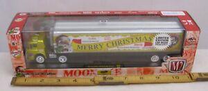 M2 MOON PIE CHRISTMAS 1960 FORD C-600 SEMI TRUCK WITH 1949 STUDEBAKER TRUCK MIB