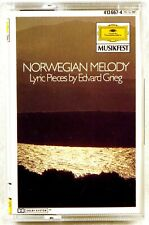 DGG CASSETTE Grieg EMIL GILELS Lyric Pieces NORWEGIAN MELODY W GERMANY 413 667-4