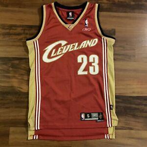 NBA Cleveland Cavaliers LeBron James Reebok Swingman Jersey Mens Sz Small S