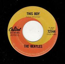 ENGLISH INVASION-BEATLES-THIS BOY/ALL MY LOVING-CAPITOL 72144-CANADIAN
