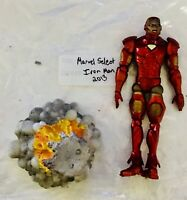 MARVEL LEGENDS DIAMOND SELECT ACTION FIGURE IRON MAN loose