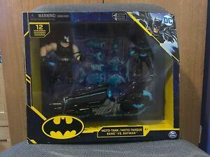 "DC Comics Bane vs. Batman Moto-Tank Toy Playset - 4"" / 4 Inch Figures - New"