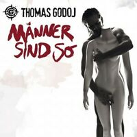 THOMAS GODOJ - MÄNNER SIND SO (LIMITED EDITION)  CD + BONUS CD DEUTSCH-POP NEU