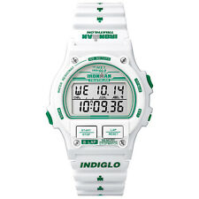 Orologio Timex t5k838 Ironman Indiglo ORIGINALE DIGITALE UNISEX WATCH BIANCO NUOVO & OVP