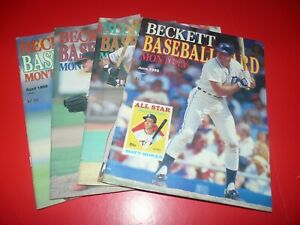 Beckett Baseball Card Monthly You Pick It $5 @, 5 for $20, Free Shipping 3+
