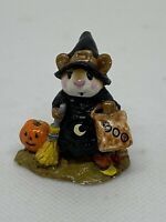Wee Forest Folk Halloween Witchy Boo Annette Pererson 1984