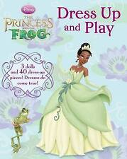 PRINCESS AND THE FROG, DISNEY DOLL DRESS UP BOOK