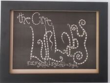 More details for the cure*lullaby*1989*original*a4*advert*quality*framed*fast world ship