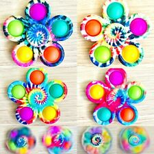 Fidget Spinner Popper Toy Party Bag Filler Push Pop It Autism Anxiety Tool