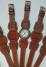 Cinturino Winchester, vera pelle marrone, ansa 18mm, made in italy NON originale