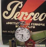 OROLOGIO TASCA PERSEO FERROVIE DELLO STATO SERIE SPECIALE MECCANICO CROMATO 5076