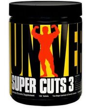 Universal Nutrition SUPER CUTS 3 - 130 tablets fat burners slimming - FREE P&P !