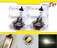 Flosser 2070180 Two Pack of Ultra 90/% High Output H7 55 Watt Halogen Bulbs