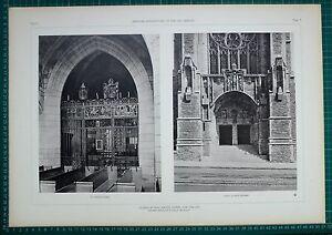 1920s Architektur Aufdruck Kirche Von Heiliger Vincent Ferrer New York Goodhue