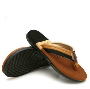 Summer Men&Womens Flip Flops Beach Slippers Couple Outdoor Flat Slip On Sandals