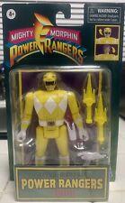 Mighty Morphine Power Rangers Retro Morphin Trini Yellow Ranger Action Figure.