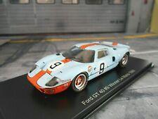 FORD GT40 24h Le Mans Winner 1968 #9 Rodriguez Gulf DC Hachette SP Spark 1:43