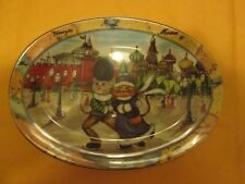 "Tourist Cats Made In Italy Moscow Russia Skating 8"" x 5.5"" New See Description"