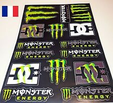 Autocollant MONSTER ENERGY adhésif STICKERS  MOTO CARENAGE REFMS3