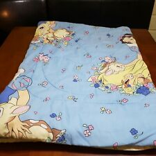 Vintage Disney Snow White And The Seven Dwarfs Twin Bed Comforter Reversible