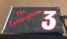 """Dale Earnhardt Sr. The Intimidator Number 3 Nascar Outdoor Flag 59.5"""" x 35.5"""""""