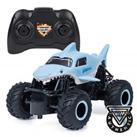Monster Jam 6047110 Official Megalodon Remote Control Monster Truck, 1:24 Scale,