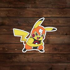 Luchador Pikachu (Pokemon) Decal/Sticker