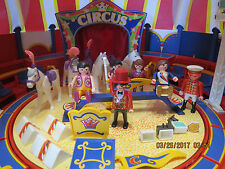 Playmobil Circus Big Top Play Set, Tent, Ring, Play Pieces, Works- Retired
