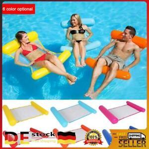 Wasser Hammock Wasserhängematte Luftmatratze Poolsitz Schwimmsessel Poolliege DE