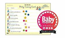 Potty training sticker chart (from 2yrs) - Ultimate potty train... Free Shipping