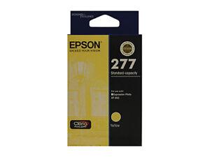 Genuine Epson 277 Yellow Ink Cartridge