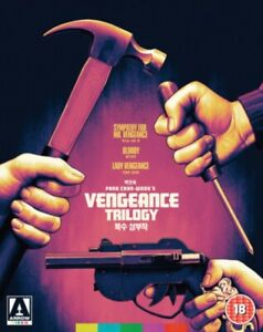The Vengeance Trilogy Blu Ray RB