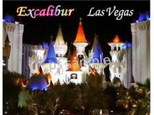 Las Vegas - EXCALIBUR - Travel Souvenir Flexible Fridge Magnet