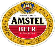 "Amstel Beer Amsterdam Alcohol Car Bumper Window Locker Sticker Decal 5""X4"""