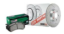 Disc Brake Pad and Rotor Kit-4WD Front Hawk Perf HK4424.210Y