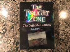 The Twilight Zone The Definitive Edition Season 1 Dvd!