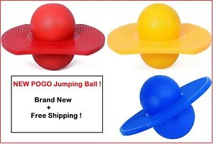 New Pogo Ball Jumping Bounce Ball for Adult Kids Exercise Yellow/Blue/Red !