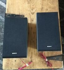 Lot of 2 Sony SS-CBX1 Speakers Tested Great Working & Cosmetic Condition