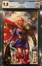 DERRICK CHEW CGC 9.8 SUPERGIRL #38 not CBCS VARIANT COVER SUPERMAN BATMAN JOKER