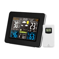 Color Weather Station Indoor/Outdoor Wireless Temperature Humidity X1H6
