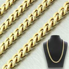 "Men's Modern 10k Solid Yellow Gold 29"" 25.8g Cuban Link Chain"