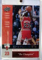 2008-09 Upper Deck Chicago Bulls Dynasty Michael Jordan #CHI-8, Chicago Bulls